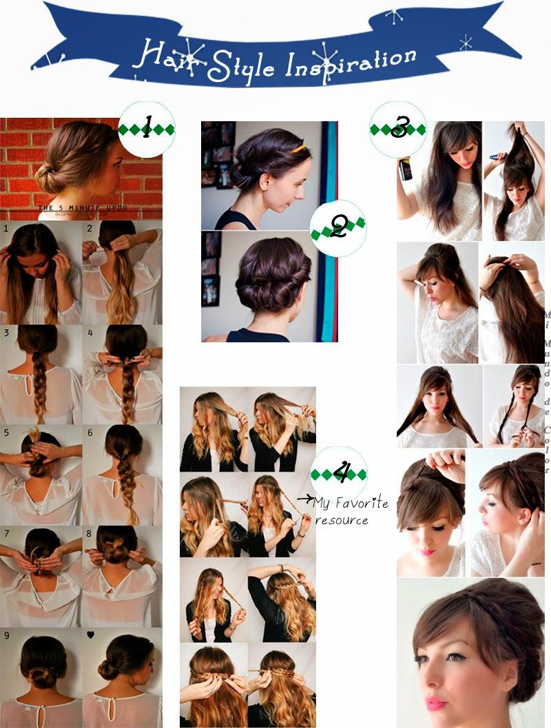 ideas de peinar el cabello