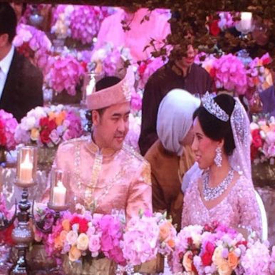 Gambar Di Majlis Perkahwinan Anak PM Dato Seri Najib Razak