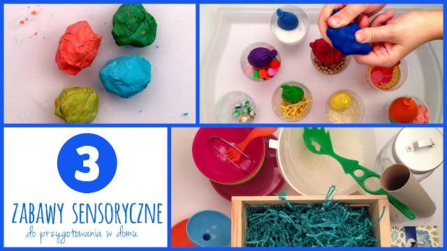 Kolorowo- dotykowo, czyli zabawy sensoryczne.