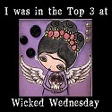 Wicked Wednesday ATC Challenge #128 Top 3