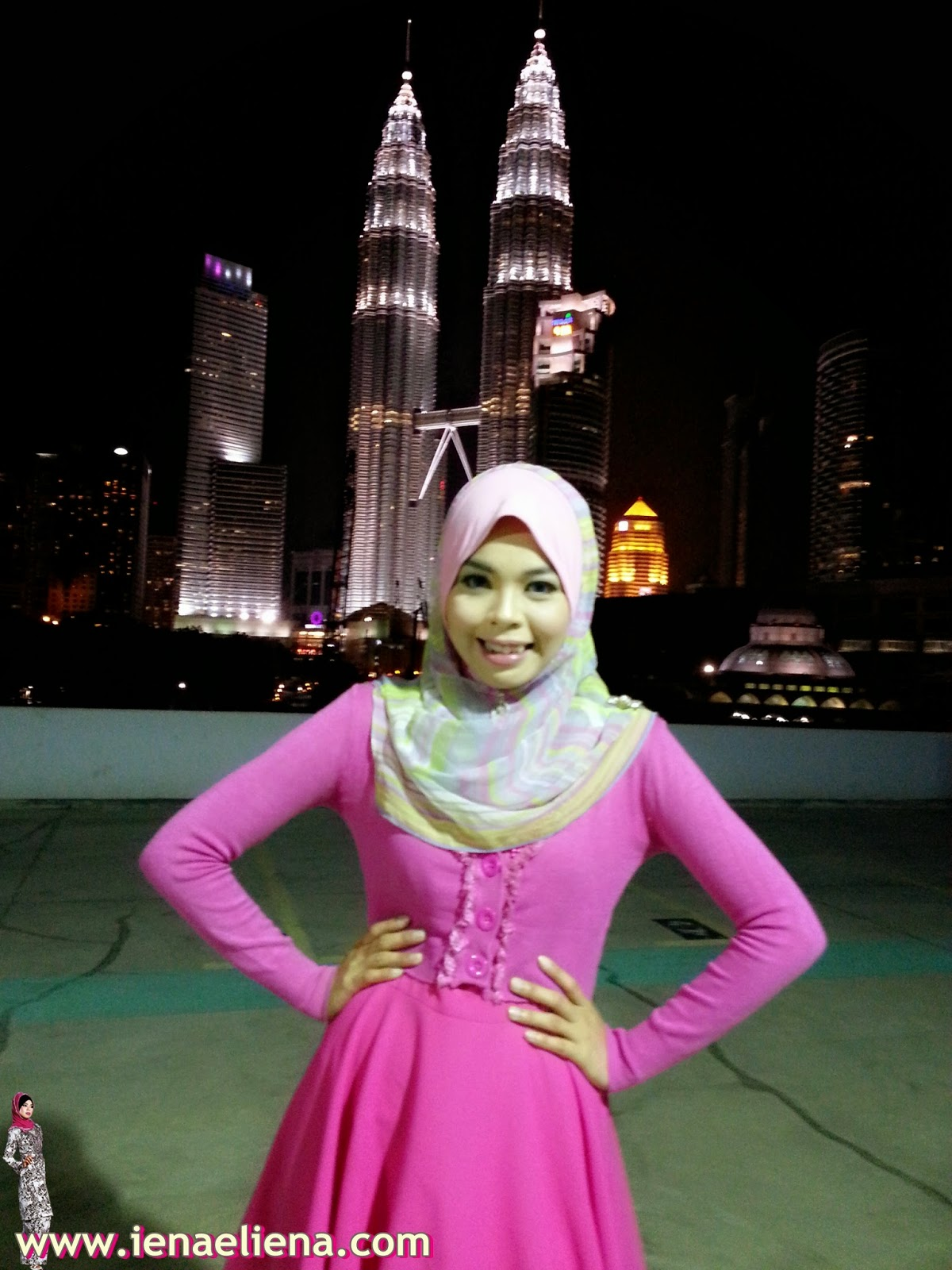 Behind The Scene : KLCC Night View Photoshoot