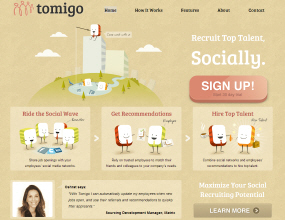 Tomigo - Employee Referral Social Recruiting Platform