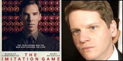 The Imitation Game written by Graham Moore, nominated for Best Adapted Screenplay Academy Award