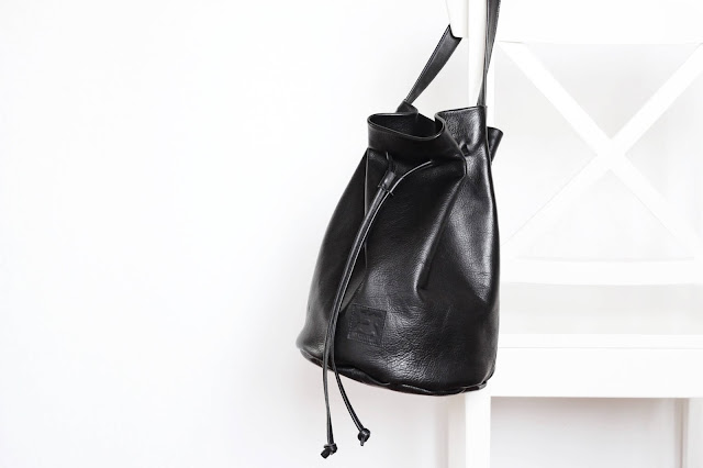 ktinka.com The perfect real leather bucket bag by my couture