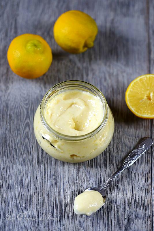 Crème au citron bergamote (curd)