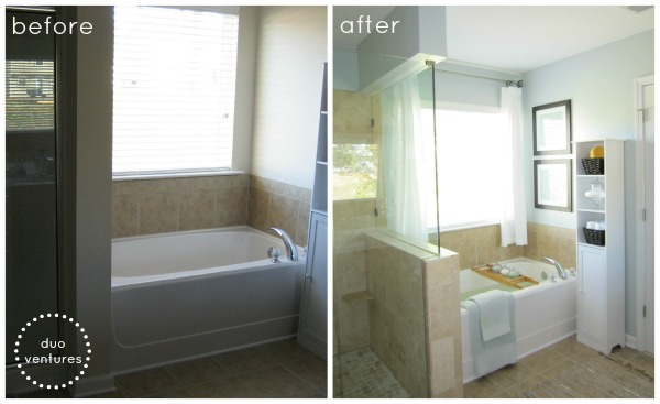 Duo ventures before after for I want to design my own bathroom