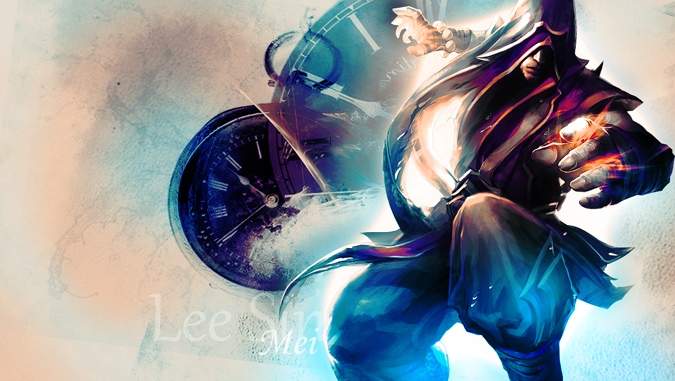 Lee Sin League of Legends Wallpaper