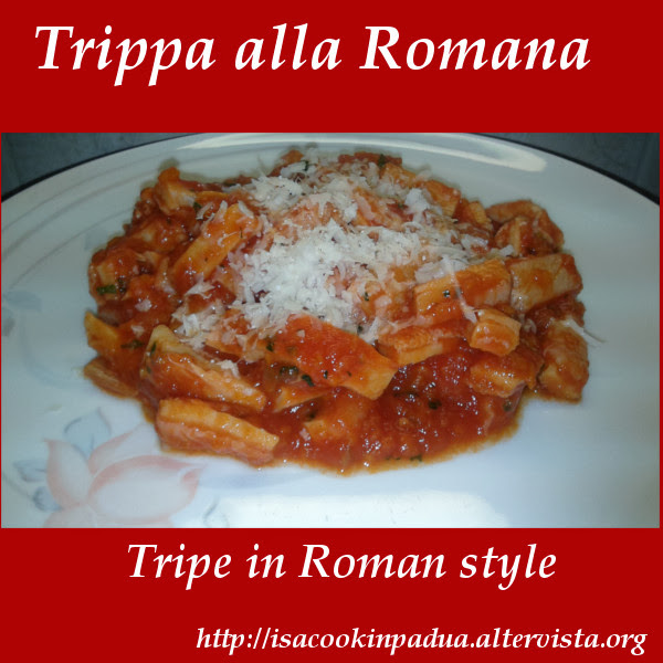 Recipe of the day: Tripe in Roman style with the Chef Mama Isa