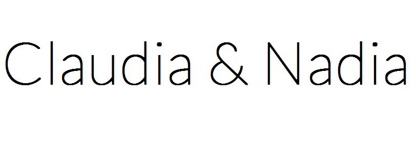 Claudia&Nadia