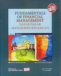 toko buku rahma: buku FUNDAMENTALS OF FINANCIAL MANAGEMENT, pengarang brigham dan houston, penerbit salemba empat
