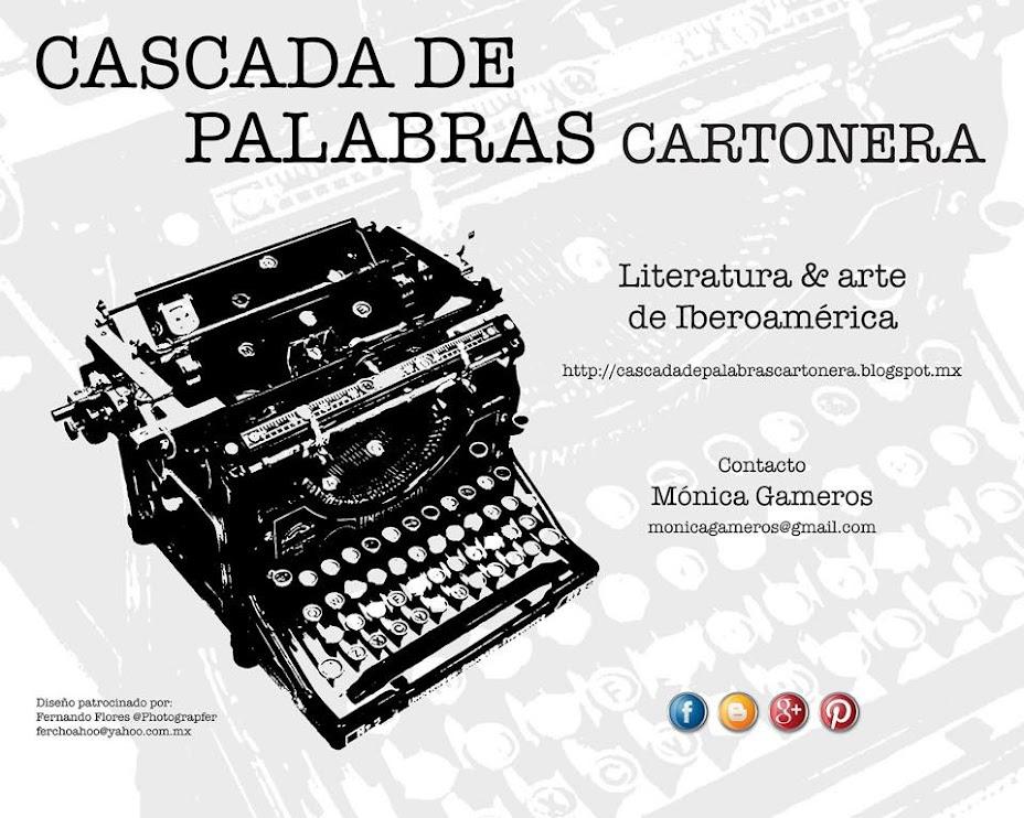 CASCADAdePALABRAScartonera
