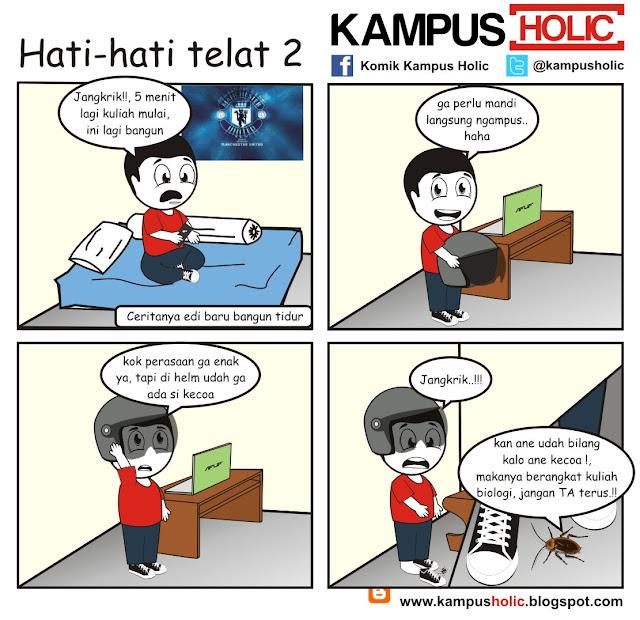 #108 mahasiswa Hati-hati telat 2