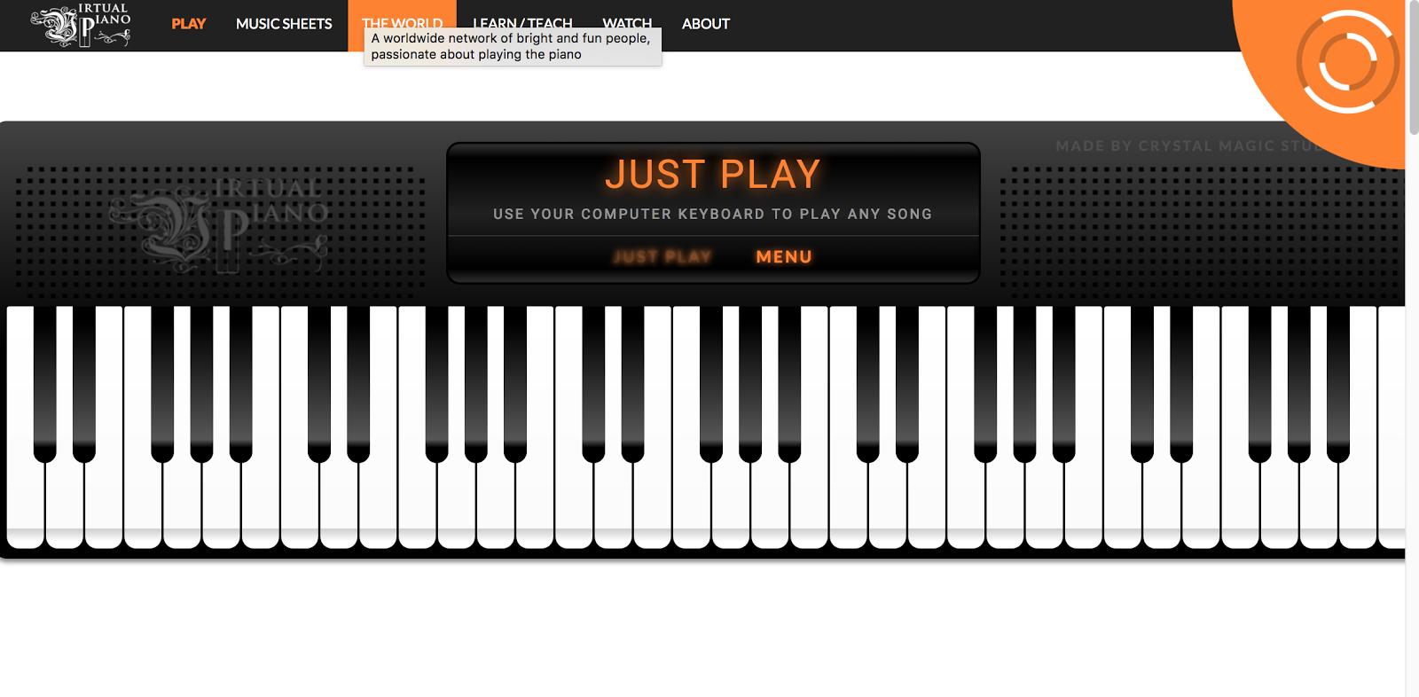PIANO VIRTUALE