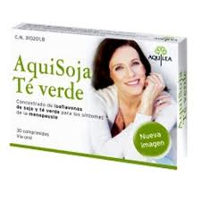 Producto rico en isoflavonas que alivian los sintomas de la menopausia