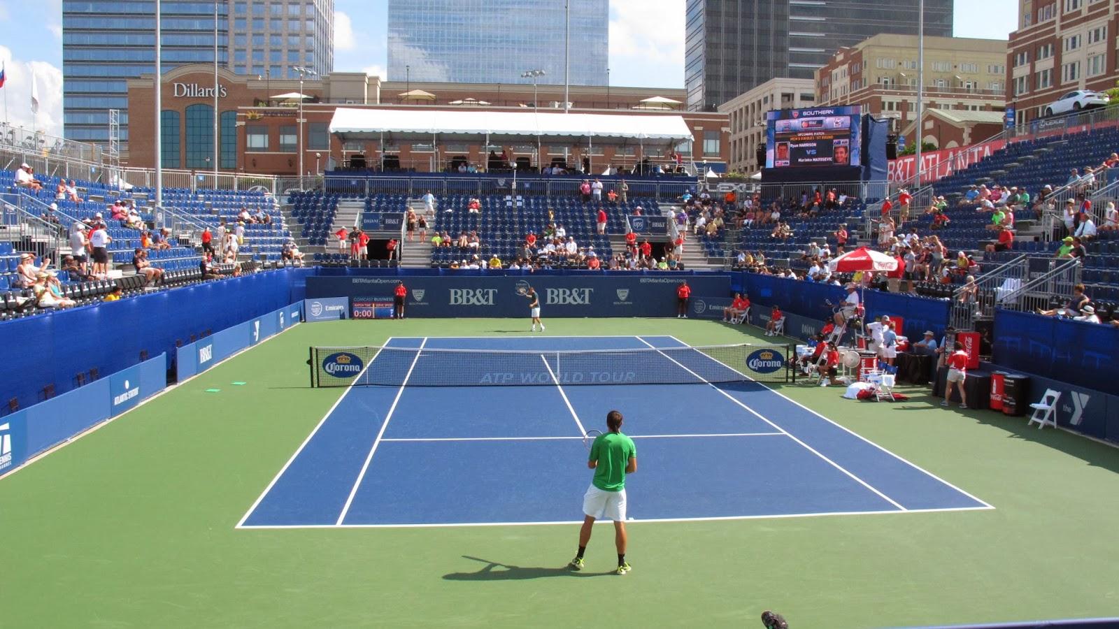 Hangin Around The Court: 2013 BB&T Atlanta Open - Day 1