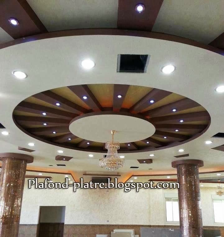 Excellent d coration plafond suspendu 2013 for Decor de platre 2015