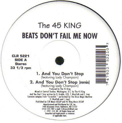 45 King, The ‎– Beats Don't Fail Me Now (1997, VLS, VBR)