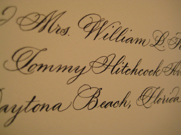 millerline pointed pen calligraphy