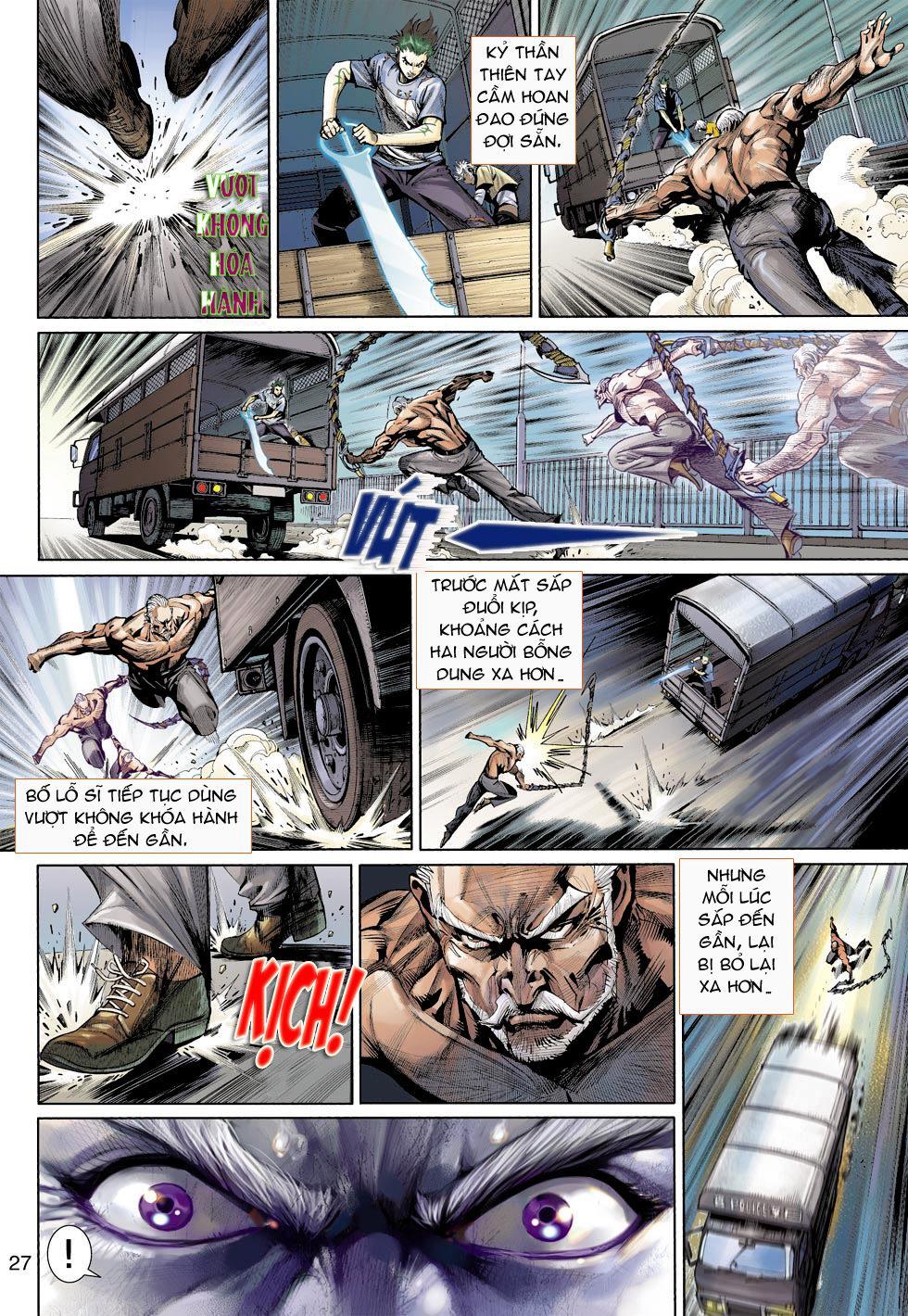 Thần Binh 4 chap 16 - Trang 27