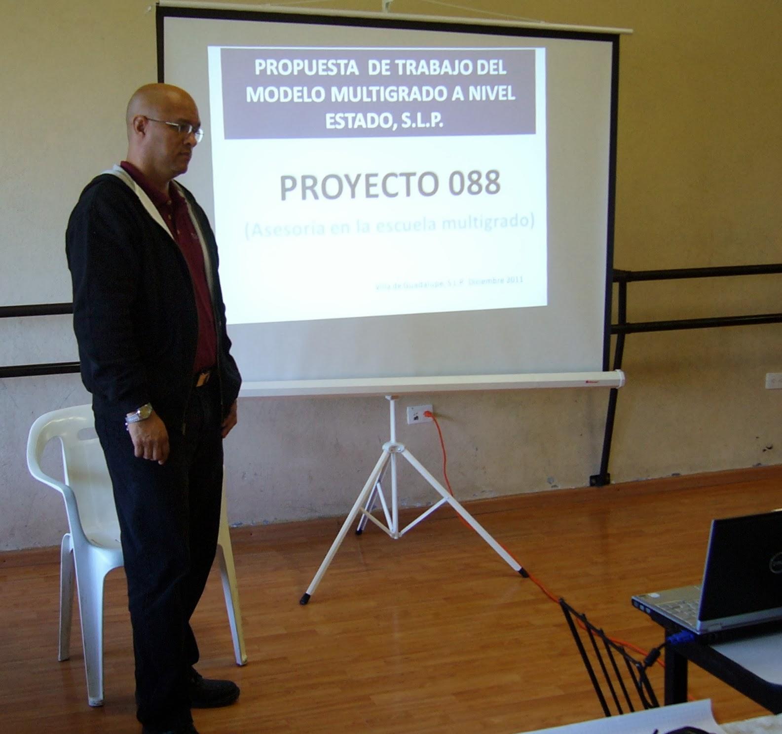 Exposición del Proyecto 088 Multigrado