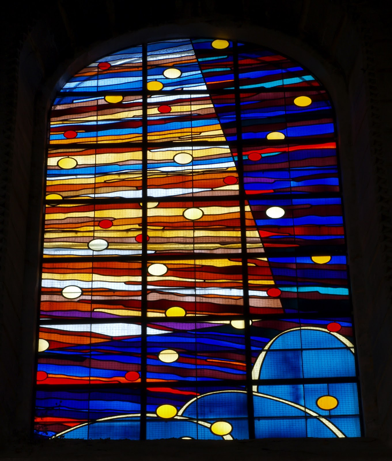 Vidrieras arte y arquitectura vidrieras de arte - Vidrieras modernas ...