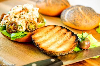 Maryland Crab Salad Sandwich--Pescetarian Journal