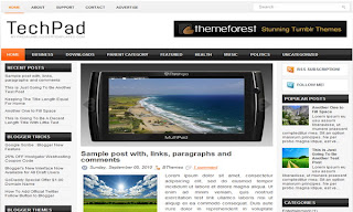 TechPad Blogger Template