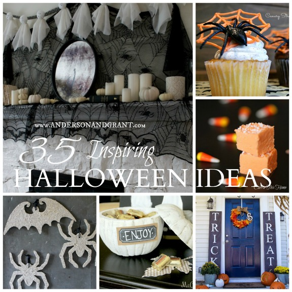 Check out this post with 35 Amazing Ideas for Halloween  | Recipes, Crafts, DIY, and Decorating Inspiration at www.andersonandgrant.com