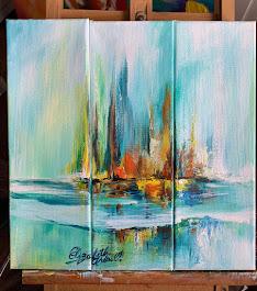 Acrílico sobre Canvas