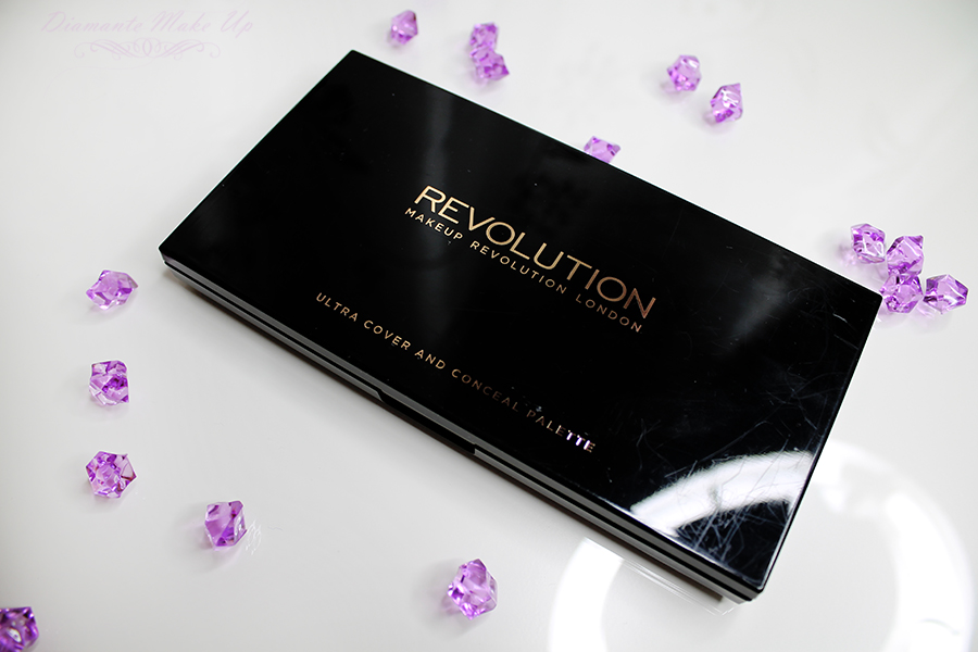 MAKEUP REVOLUTION Ultra Cover and Conceal Palette - Recenzja