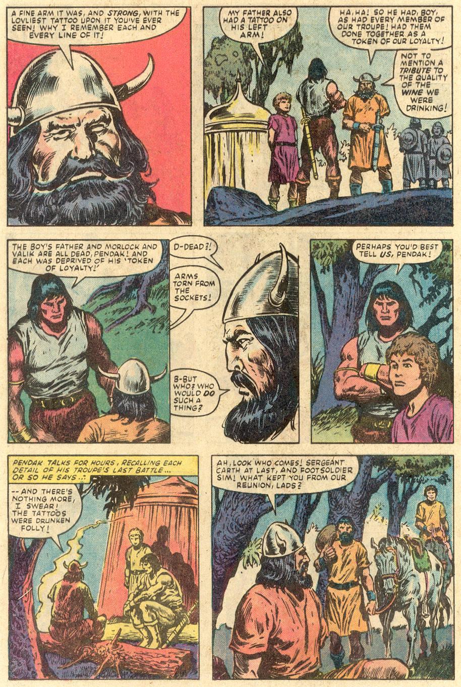 Conan the Barbarian (1970) Issue #149 #161 - English 9