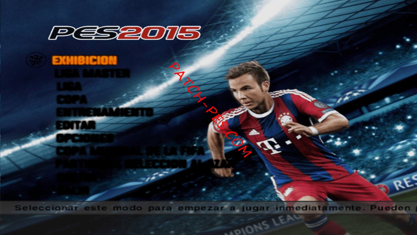 Pes 6 patch 2014/2015 youtube.