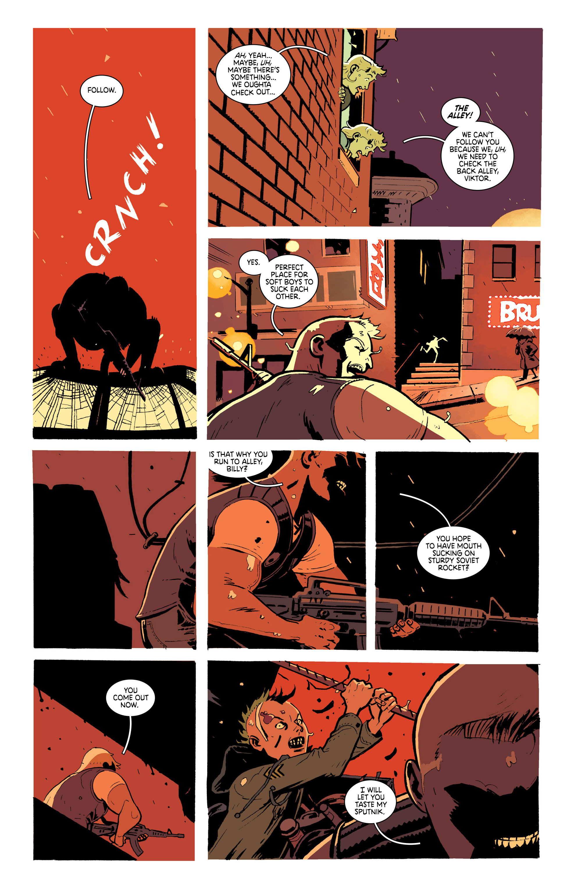 Read online Deadly Class comic -  Issue #19 - 9