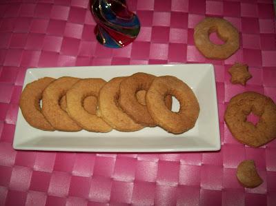 anellini alla vaniglia o al limone