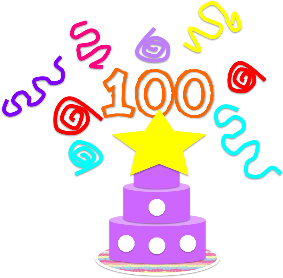 100th Day of School Clipart Clipart 100th Day of School