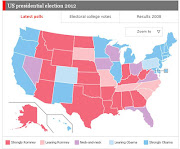 . the probable electoral vote distribution between these two candidates.