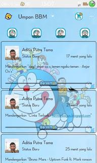 BBM Mod Doraemon Themes Versi 2.9.0.51
