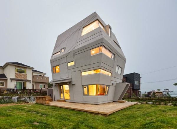 Star wars house in south korea spicytec for Houses in south korea