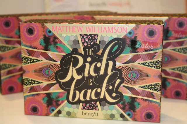 Benefit and Matthew Williamson The Rich Is Back Launch