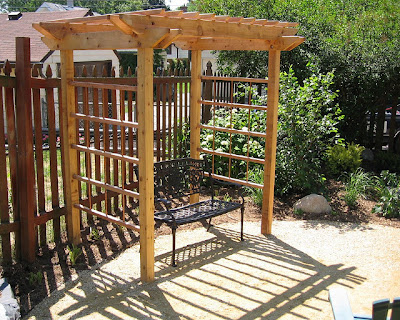 decorative-pergola-in-backyard