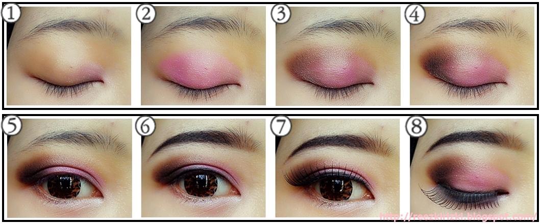 reezki s beauty blog tutorial pinky graduation makeup