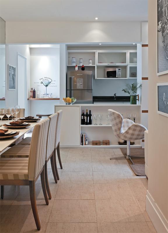 decoracao de apartamentos pequenos cozinha : decoracao de apartamentos pequenos cozinha:Blog Achados de Decoração: APARTAMENTO DECORADO: 70m bem brasileiros