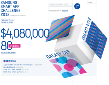 Samsung Smart App Challenge 2012