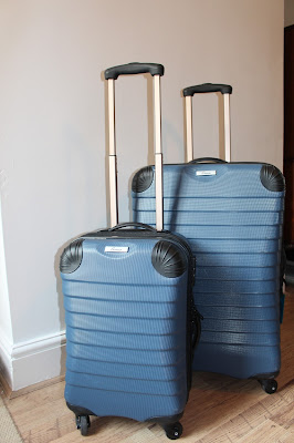 Linea Denim Suitcases from House of Fraser; review