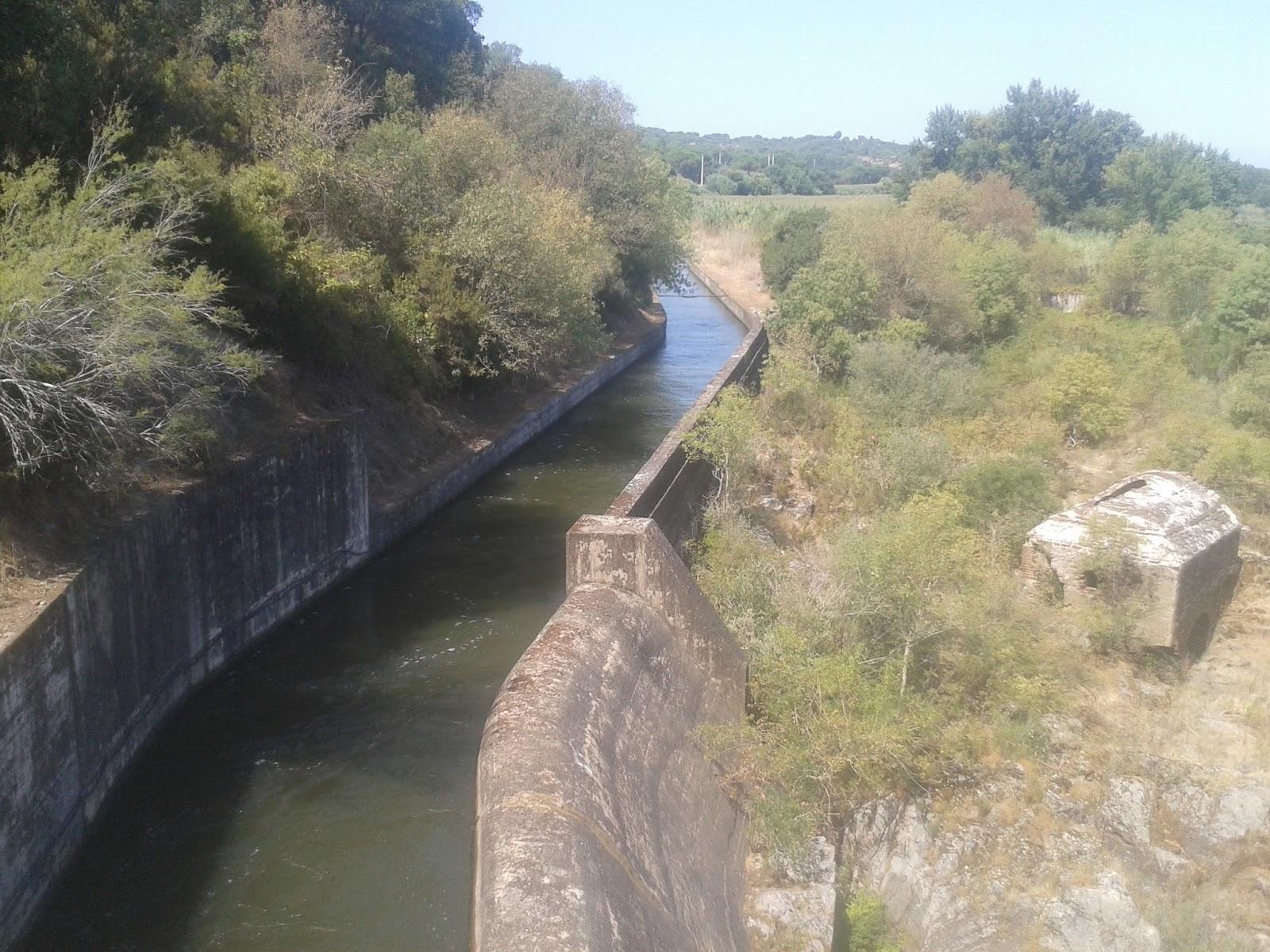 Inicio do canal do Sorraia
