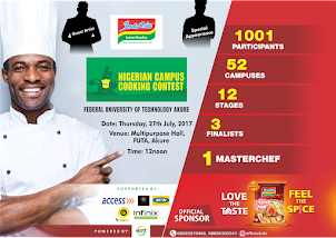 Nigeria Campus Cooking Contest 2017