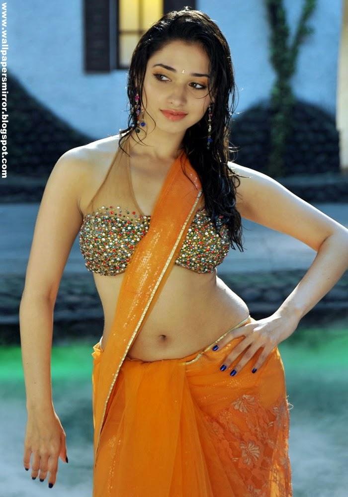 Tamanna hot saree pics