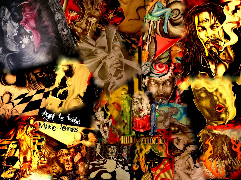 google art is life tattoo mike jones and lady day title=