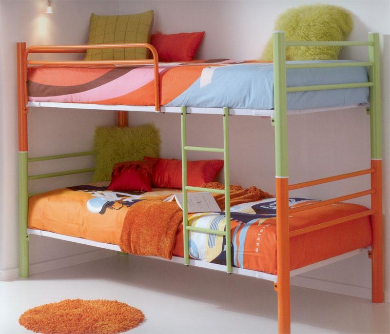 Muebles de forja camas literas forja econ micas - Cama convertible en litera ...