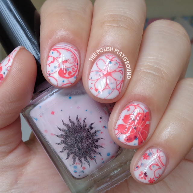 Oh So Sweet Floral Nail Art